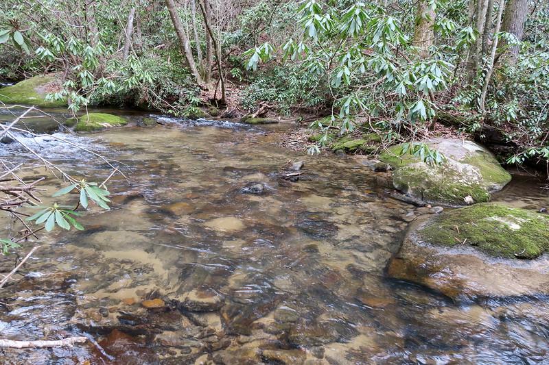 Bearwallow Creek Road Ford