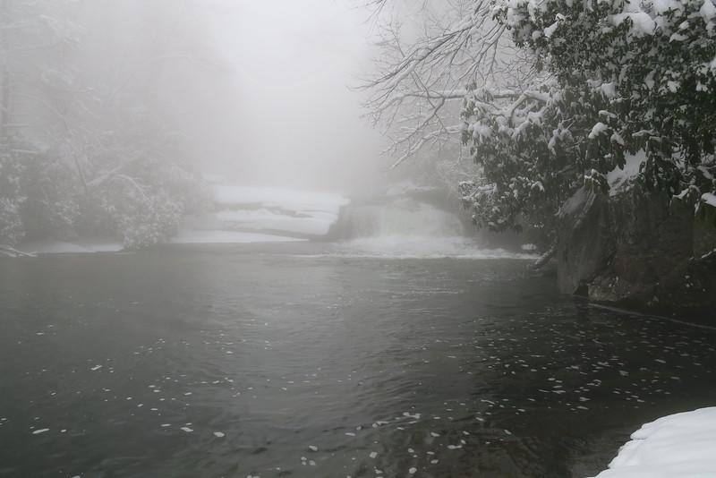 Rainbow Falls Trail - Hidden Falls