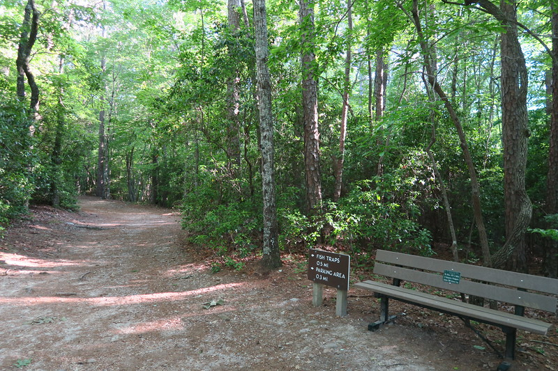 Raven Rock Loop-Fish Traps Trail Junction