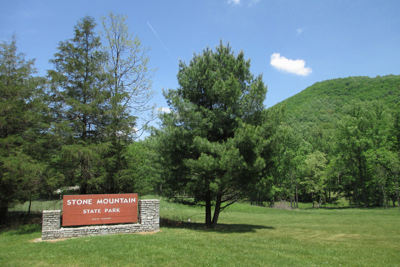 Stone Mountain State Park - North Entrance