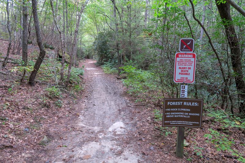 Wintergreen Falls Trail