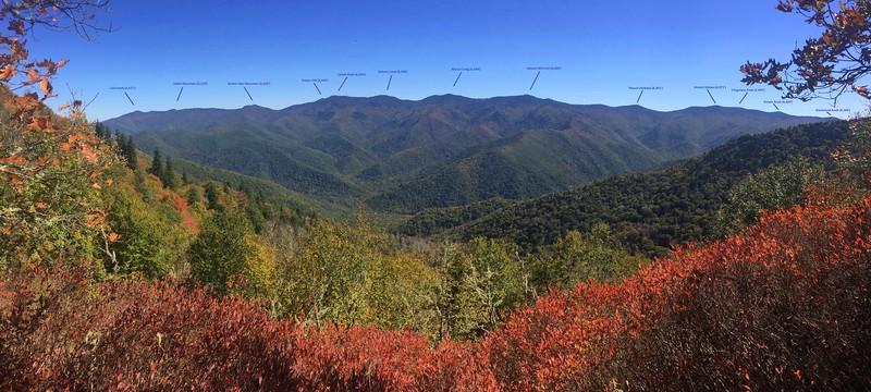 Black Mountain Range -- 5,600'