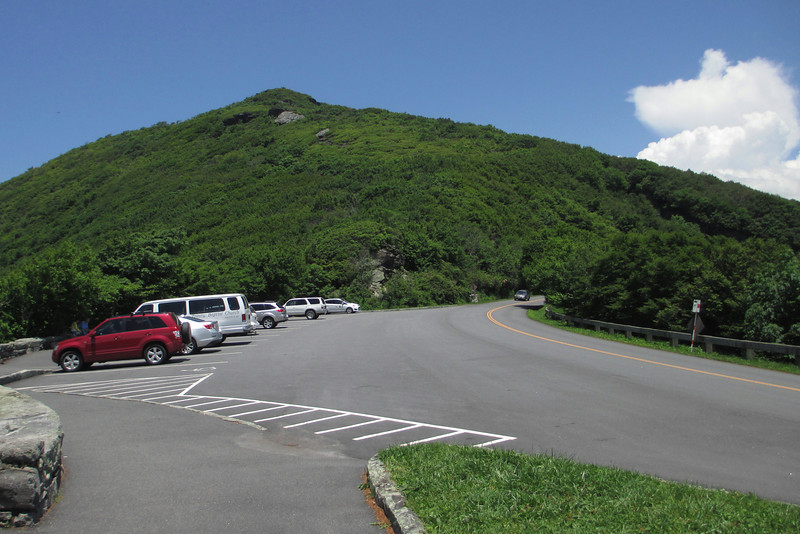 Craggy Pinnacle Parking Area