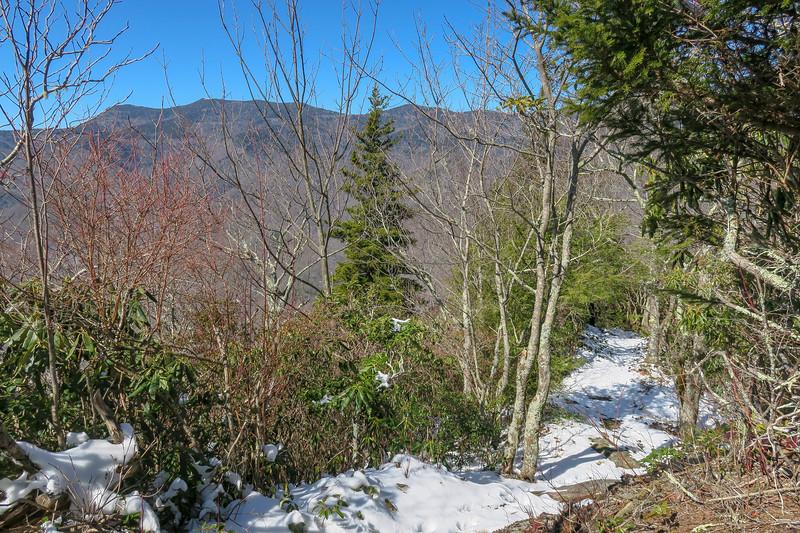 Green Knob Trail -- 4,670'
