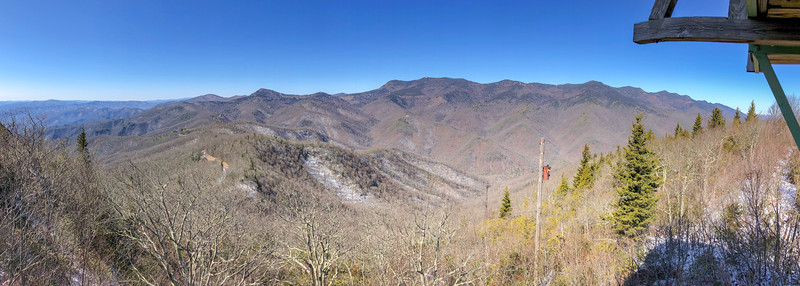 Green Knob Lookout Tower -- 5,060'
