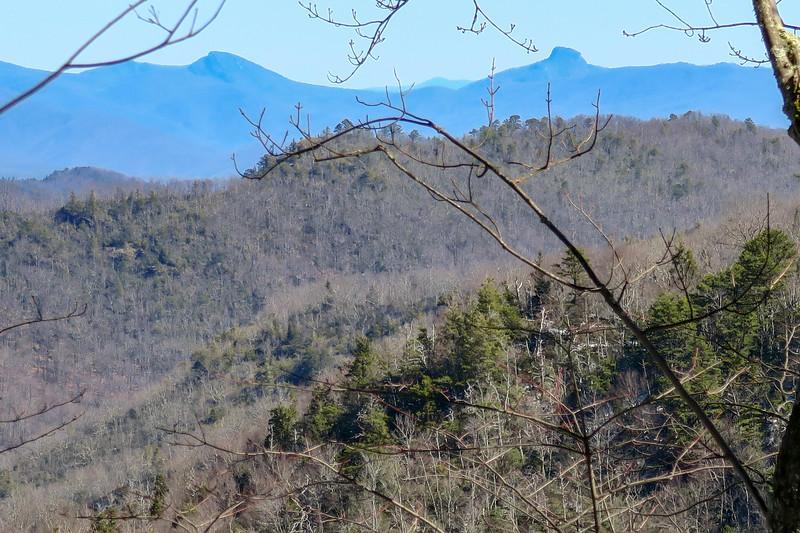 Green Knob Trail -- 4,400'