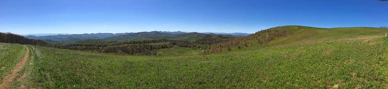 Appalachian Trail -- 4,480'