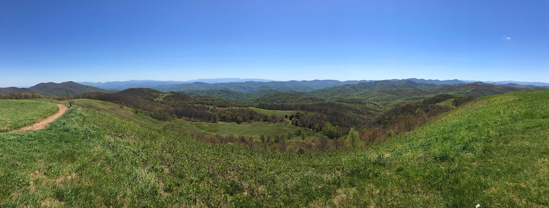 Appalachian Trail -- 4,600'