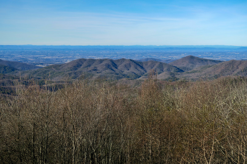 Rich Mountain Lookout Tower -- 3,670'