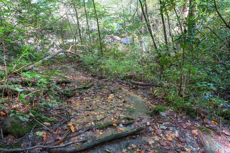 Bard Falls Scramble Path