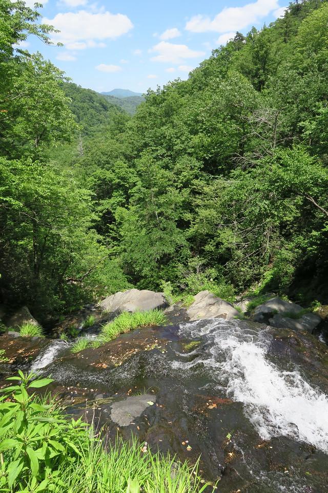 Unofficial Upper Falls Trail