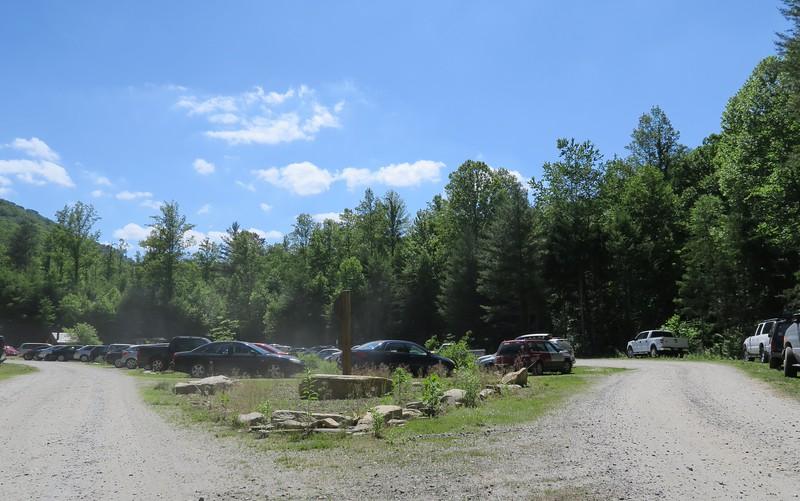 Catawba Falls Parking Area