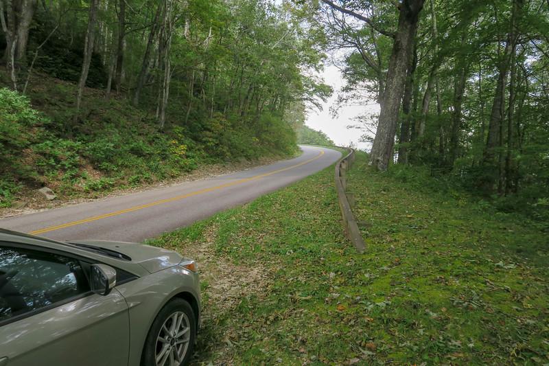 Blue Ridge Parkway Starting Point