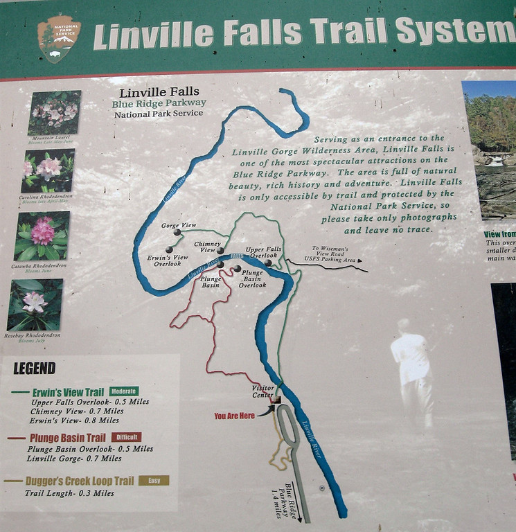 There are no less than <i>five</i> overlooks of the falls, we'd just be heading out to the <i>Plunge Basin Overlook</i> on this hike...