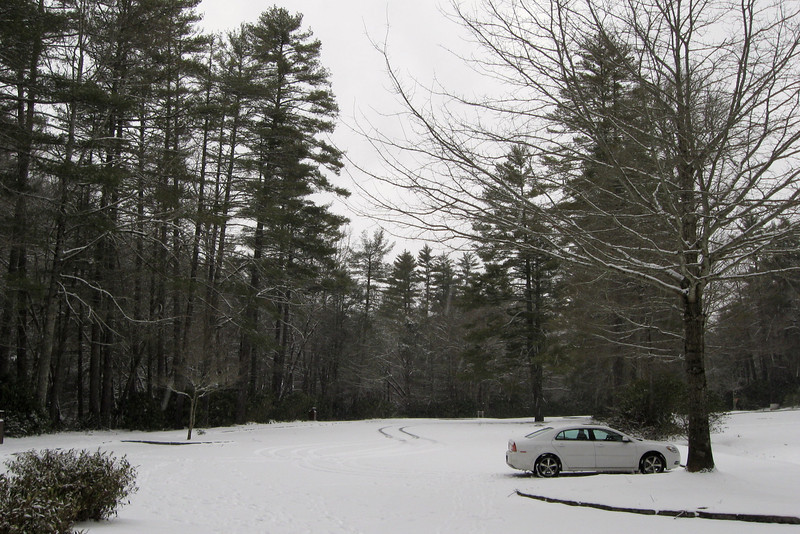 Linville Falls Parking Area