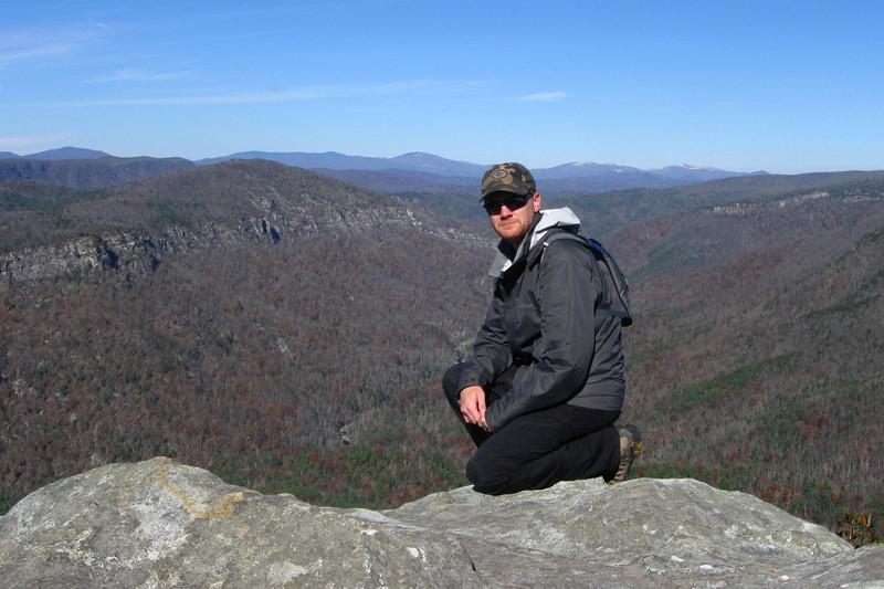 Table Rock Mountain Summit -- 4,100'