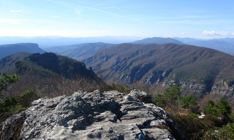 Linville Gorge - Table Rock Mountain Loop (11-5-12)
