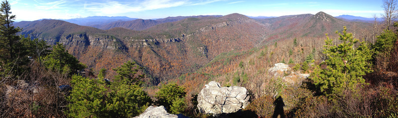 Linville Gorge from Little Tablerock...
