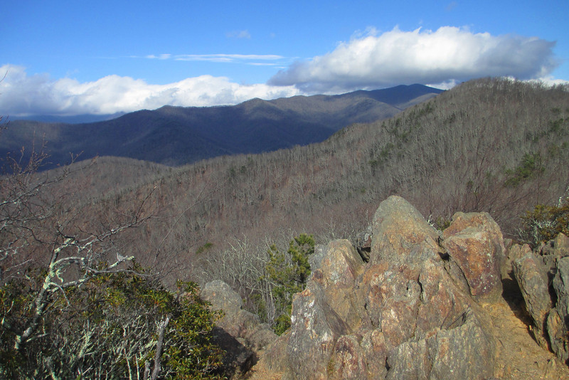 Lookout & Rattlesnake Mountains, Buncombe County (1-27-14)