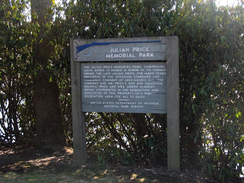 Julian Price Memorial Park