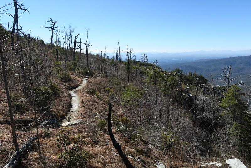 Shortoff Mountain Trail - 2,860'
