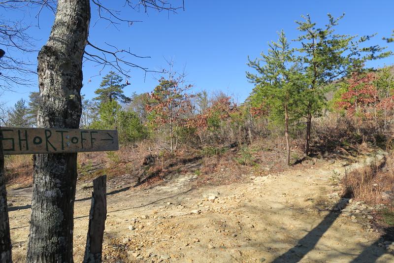 Shortoff Mountain Trail - 1,900'