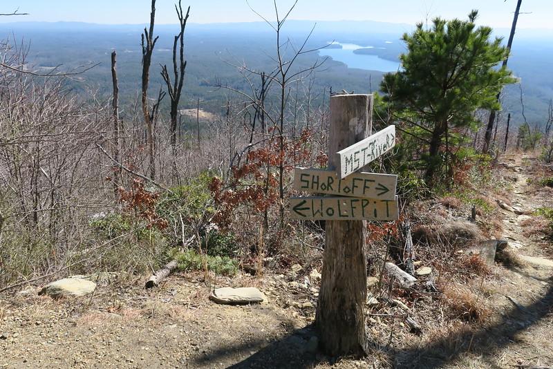 Shortoff Mountain Trail - 2,460'