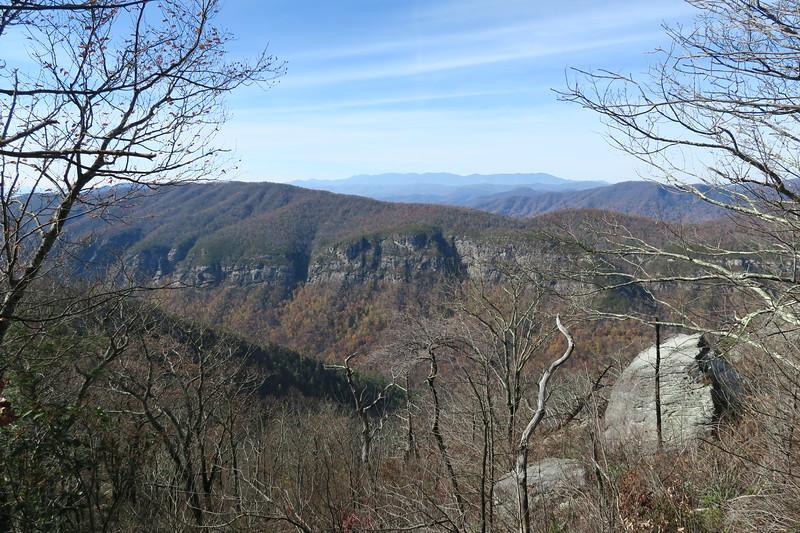 Mountains-to-Sea Trail -- 3,450