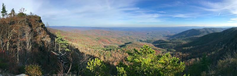 Mountains to Sea Trail -- 3,450