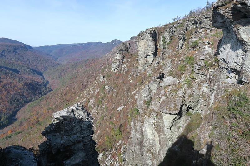 The North Carolina Wall -- 3,200