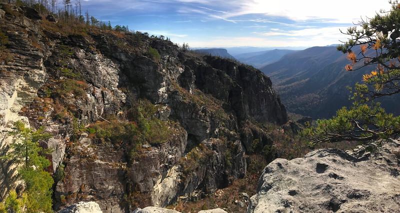 The North Carolina Wall -- 3,320