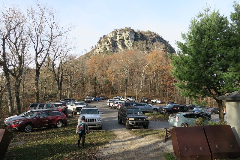 Table Rock Parking Area -- 3,380