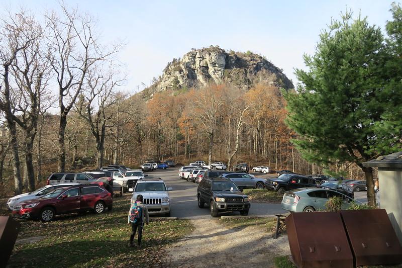 Table Rock Parking Area -- 3,380