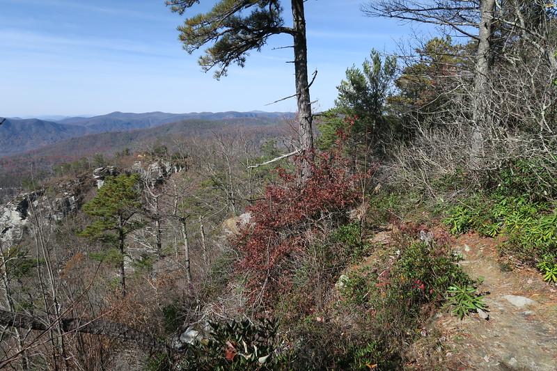Table Rock Mountain Trail -- 3,680