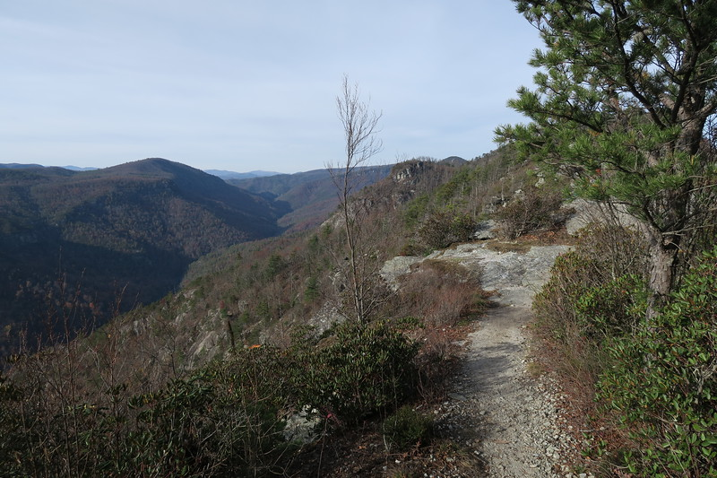Mountains to Sea Trail -- 3,460