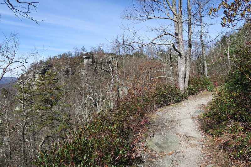 Mountains-to-Sea Trail -- 3,500