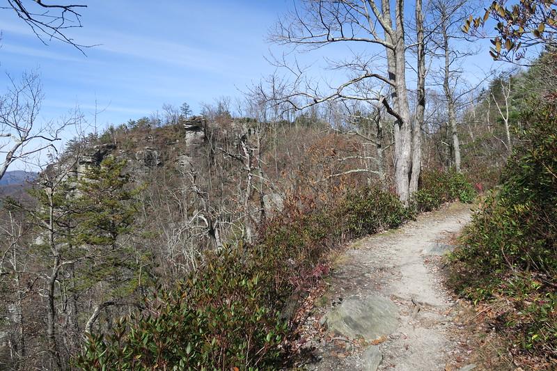 Mountains-to-Sea Trail -- 3,500