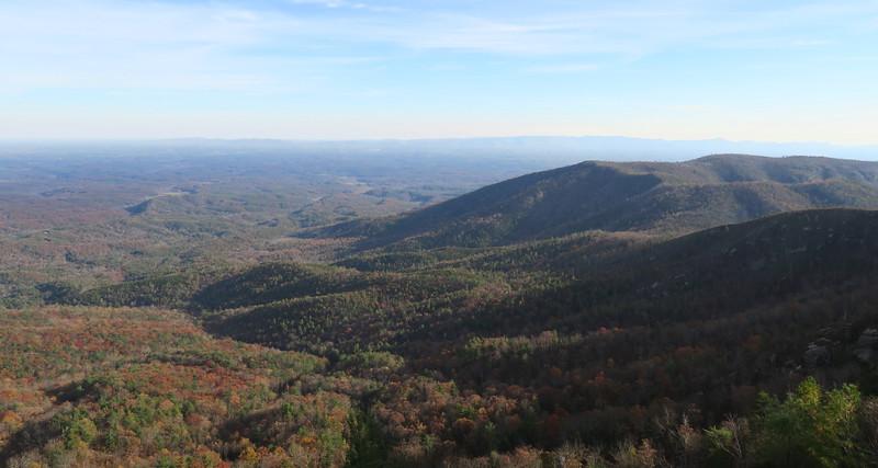 Mountains to Sea Trail -- 3,460