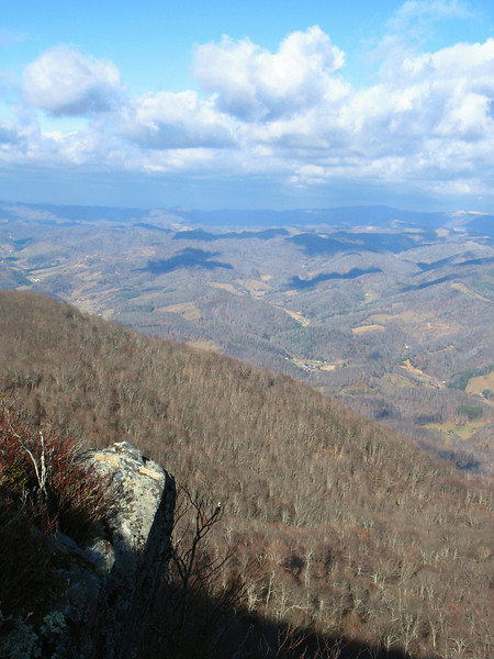 Above Ashe County...