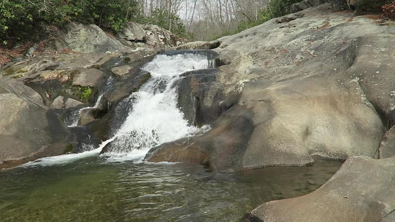 Upper Gragg Prong Falls