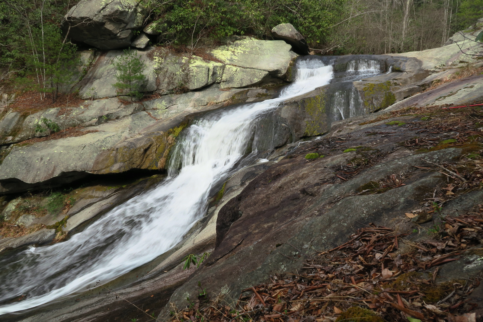 Middle Gragg Prong Falls