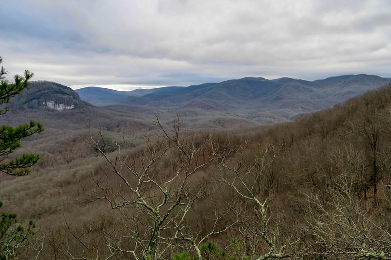 Overlook Rock -- 3,450'