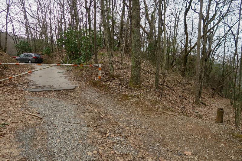 Bad Fork Trail Trailhead @ Blue Ridge Parkway -- 3,280'