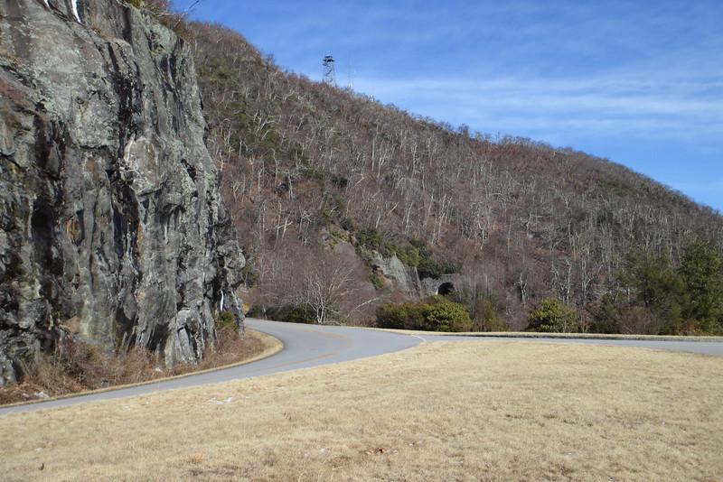 Blue Ridge Parkway - Pink Beds Overlook - 4,822'