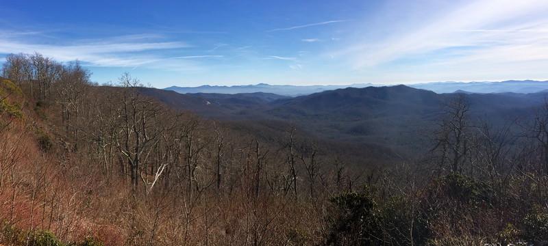 Blue Ridge Parkway - Cradle of Forestry Overlook - 4,710'