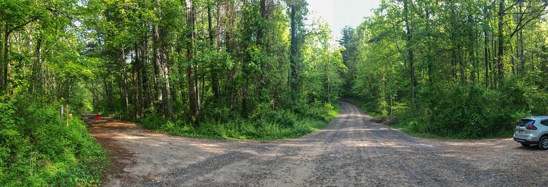 Forest Road 479/479F Trailhead -- 2,180'