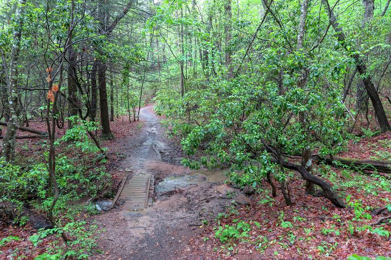 Hardtimes Connector Trail -- 2,120'