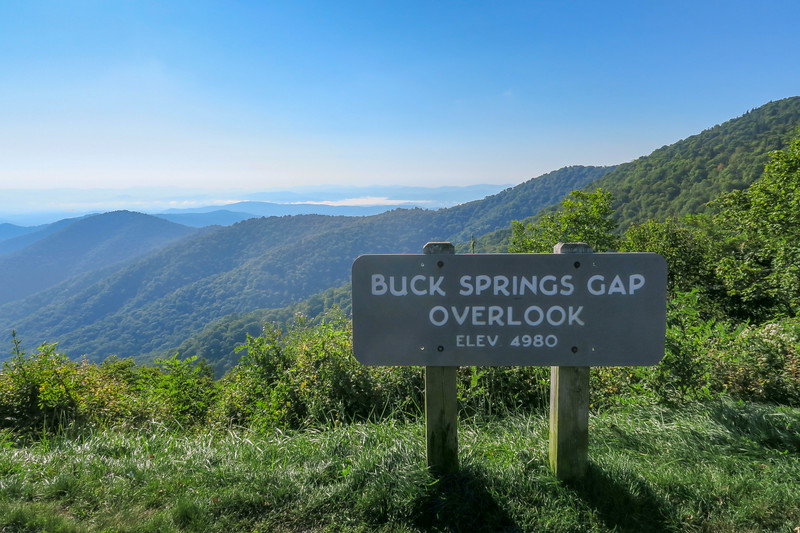 Buck Springs Gap -- 4,980'