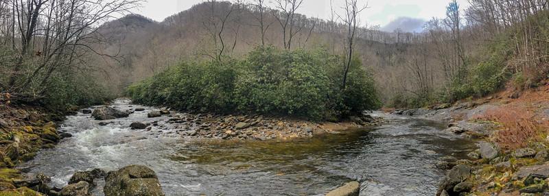 East Fork Pigeon River -- 3,460'