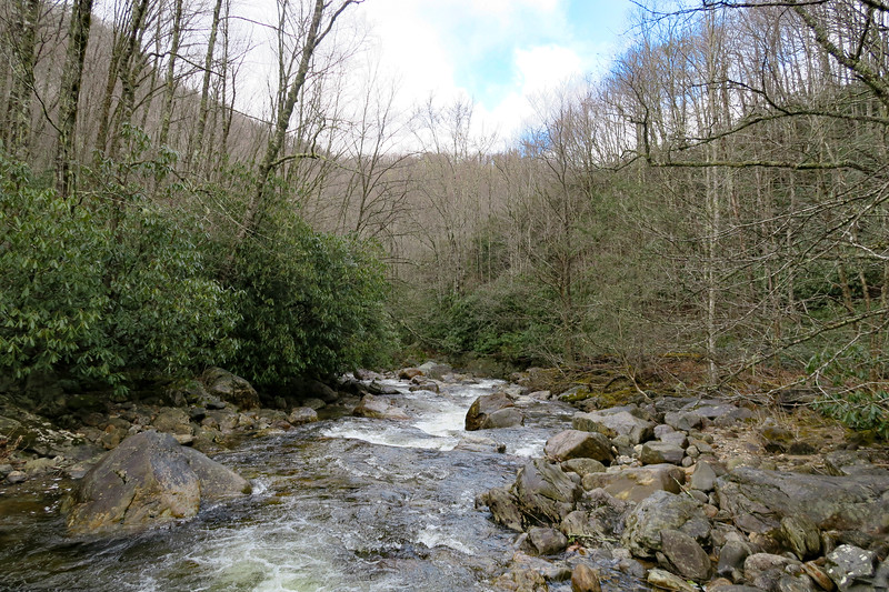 East Fork Pigeon River -- 3,580'